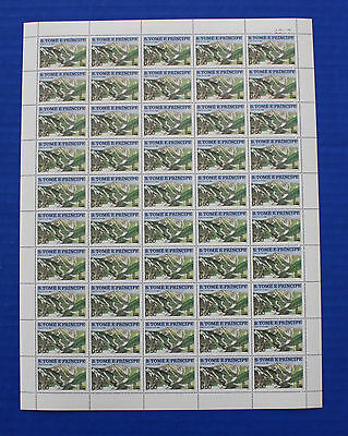 St. Thomas & Prince Island 1979 (#567) 13th Winter Olympic Games MNH sheet