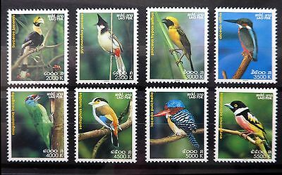 LAOS 2004 Birds SG1875/82 U/M NB2074