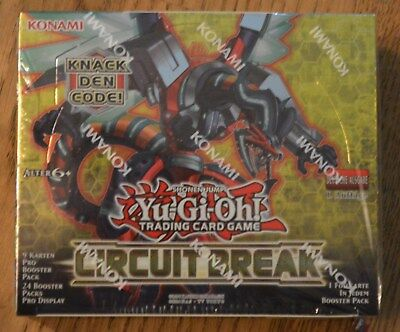 Yu-Gi-Oh! Circuit Break 24 Booster Display (de) 1. Auflage Neu & OVP