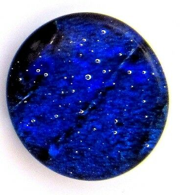 """""""Nicola 19mm x 21mm"""" beautiful hand made Fused Dichroic Glass Cabochon RELEI"""