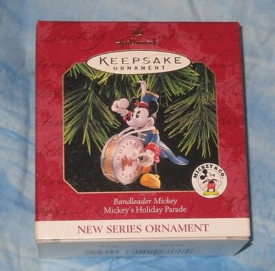 Hallmark Keepsake Ornament ~ Bandleader Mickey ~ Mickeys Holiday Parade *new