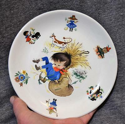 Old Foley James Kent Made In England Nursery Rhymes Plate