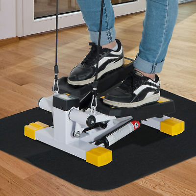 HOMCOM Exercise Stepper Mini Aerobic Fitness Machine Pulling Rope Sport Home Gym