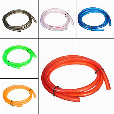 1M Petrol Fuel Line Hose Gas Oil Pipe Tube 5' I/D 8' O/D For Yamaha Honda Suzuki