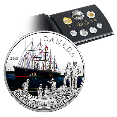 2016 Special Edition Silver Dollar Proof Set – 150th Anni. of the Transatlantic