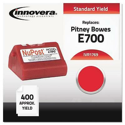Innovera 1769 Compatible with 769-0 Postage Meter,  400-600 Page-Yield, Red