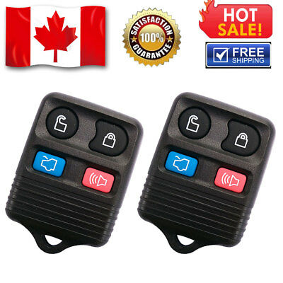 2X New Uncut Replacement Keyless Entry Remote Transmitter Key Fob For Dodge 3btn