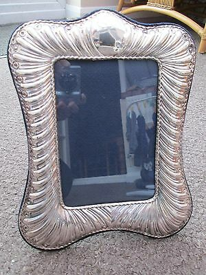 Beautiful Sterling Silver Large Photo Frame
