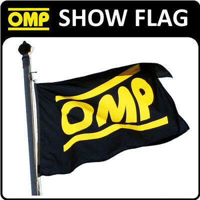 X/867 OMP RACING RALLY RARE DEALER FLAG 1x1.5metre for MOTORSPORT SHOWS & EVENTS