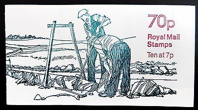 GB 1978 - 70p Dry Stone Walling FD4 Booklet Cat £250 NB2092