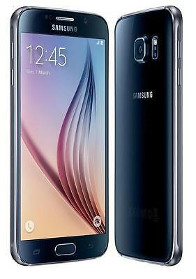 Sprint Samsung Galaxy S6 G920P Black 32GB Android Phone Clean ESN