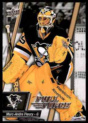 2015-16 Upper Deck Full Force Marc-Andre Fleury #56