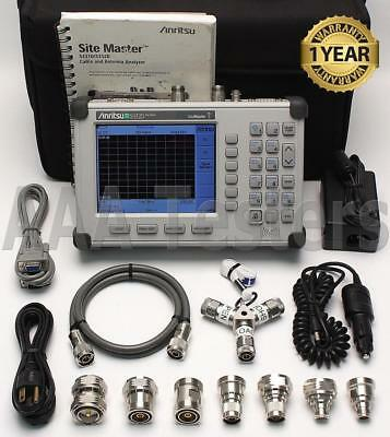 Anritsu Site Master S332D Cable Antenna Spectrum Analyzer 2/3/6/10A/16/19/21/28