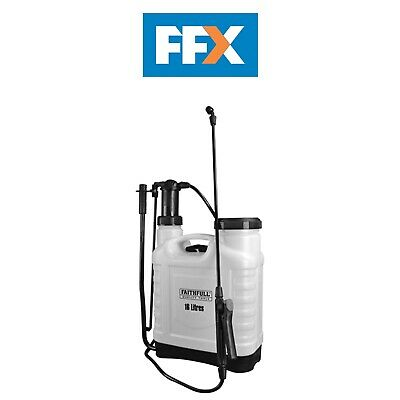 Faithfull FAISPRAY16 Pressure Sprayer Knapsack 16 Litre