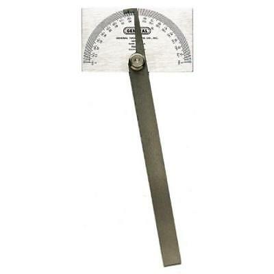 General Tools 17 Square Head Metal Protractor New