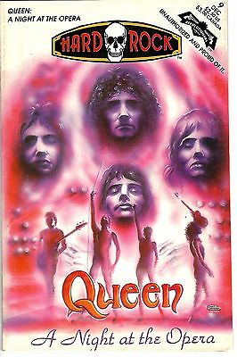 "Hard Rock Comics #9 (1992) VG/FN 1st Printing  ""Queen: A Night at the Opera"""