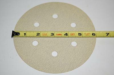 "100 New Klingspor EU 6"" 100 Grit  6 Hole Hook & Loop Sanding Disc PS33CK 143694"