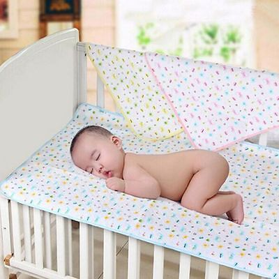 35*45CM Soft Baby Urine Pad Cotton And TPU Absorbent Cloth Mat Towel