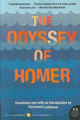 The Odyssey of Homer by Richmond Lattimore 9780061244186 (Paperback, 2007)