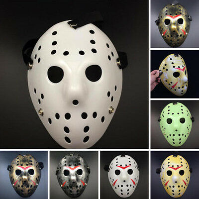 US SHIP Halloween Jason Voorhees Mask Friday The 13th Horror Hockey Costume Prop
