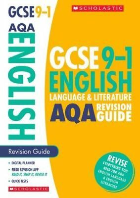English Language and Literature Revision Guide for AQA by Jon Seal 9781407169149