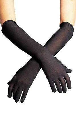 Elbow Length Gloves Black Wedding Halloween fancy dress costumes Accessories