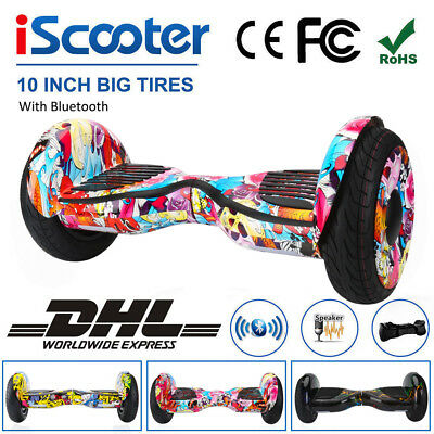 Bluetooth Scooter Eléctrico Patinete Self Balancing Monociclo Overboard 6.5/8/10