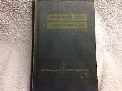 """1949 """"Reference Data for Radio Engineers"""" Book Federal Telephone and Radio Corp"""