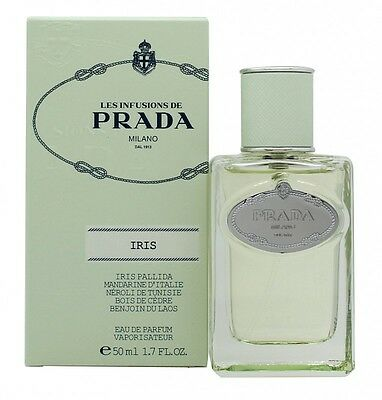 Prada Infusion D'iris (2015) Eau De Parfum 50Ml Spray - Women's For Her. New