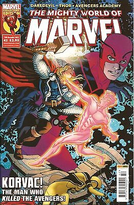 THE MIGHTY WORLD OF MARVEL VOL.4 # 42 / MARVEL / PANINI UK / 19th DEC 2012 / N/M
