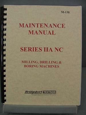 Bridgeport Series IIA NC Maintenance Manual - M-138