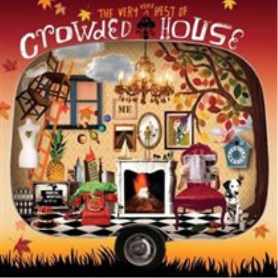 Crowded House-The Very Very Best of Crowded House  CD NEW