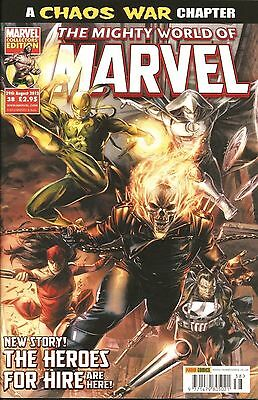 THE MIGHTY WORLD OF MARVEL VOL.4 # 38 / MARVEL / PANINI UK / 29th AUG 2012 / N/M