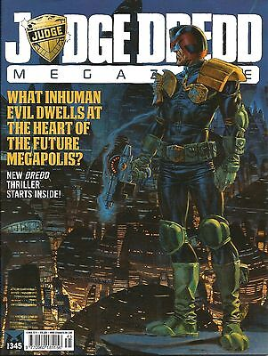 JUDGE DREDD MEGAZINE # 345 / 18th MAR 2014 / REBELLION / UK EXC / N/M / 2000AD