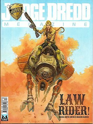 JUDGE DREDD MEGAZINE # 353 / 18th NOV 2014 / REBELLION / UK EXC / N/M / 2000AD