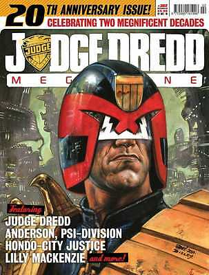 JUDGE DREDD MEGAZINE # 302 / OCT 2010 / REBELLION / N/M / 20th ANNIVERSARY ISSUE