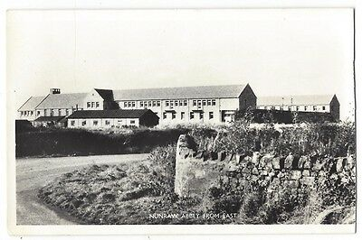 NUNRAW ABBEY From the East, East Lothian, RP Postcard Unused