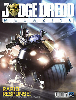 JUDGE DREDD MEGAZINE # 356 / 17th FEB 2015 / REBELLION / UK EXC / N/M / 2000AD