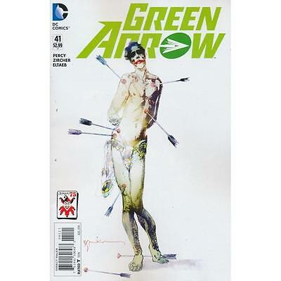 Green Arrow # 41 / Joker 75Th Anniversary Cover / Dc Comics / Aug 2015 / N/m