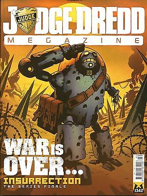 JUDGE DREDD MEGAZINE # 342 / 17th DEC 2013 / REBELLION / N/M / DREDD UNDERBELLY