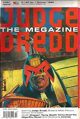 Judge Dredd The Megazine Vol.1 # 1 / Oct 1990 / Fleetway / Uk Exc / N/m / 2000Ad