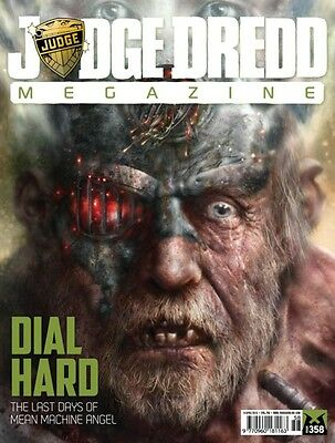 Judge Dredd Megazine # 358 / Apr 2015 / Uk Exclusive / N/m / American Reaper Ii