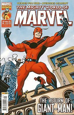 THE MIGHTY WORLD OF MARVEL VOL.4 # 40 / MARVEL / PANINI UK / 24th OCT 2012 / N/M