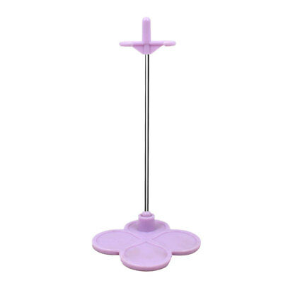 Purple Plastic Doll Display Stand Supporting Holder for 1/6 Blythe Neo Dolls