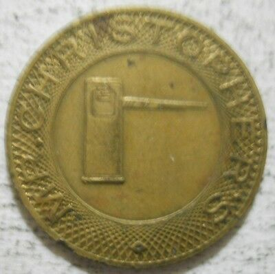 Mr. Christopher's (Chicago, Illinois) parking token - IL3150BB