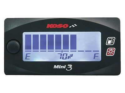 Fuel Gauge Fuel Level Gauge KOSO UNIVERSAL SCOOTER MOTORCYCLE QUAD