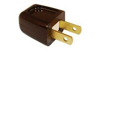 Add-A-Tap, Male Plug, 10Amp, Brown Cooper Wiring Devices Outlet Adapters