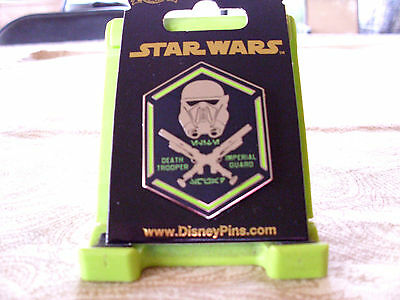 Disney * STAR WARS - IMPERIAL GUARD - DEATH TROOPER * New on Card Trading Pin
