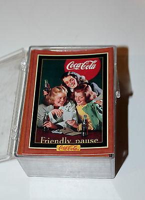 Set of 100 Coke trading cards-Series 4
