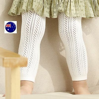Girls Baby Kid Cotton Bottoms Pants Footless Tights Leggings Stocking 0-24months